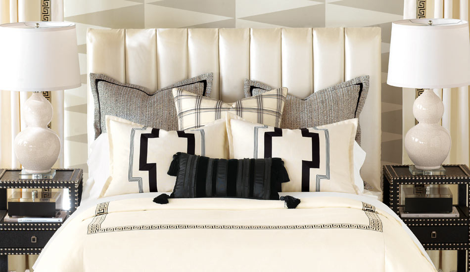 Sleep in style with the Eastern Accents-Abernathy Collection