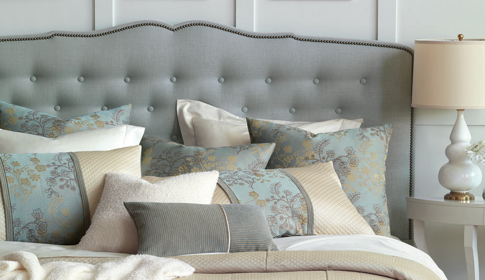 The Zinnia Collection by Eastern Accents… you will want to make your bed!