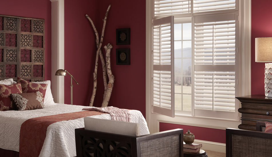 Eclipse Shutters in Bedroom