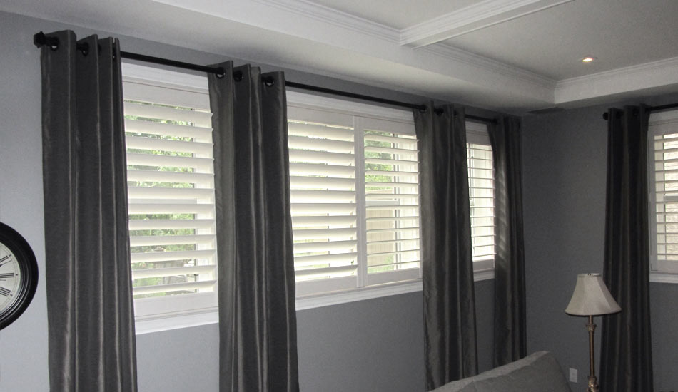 Shutters and Drapery Side Panels