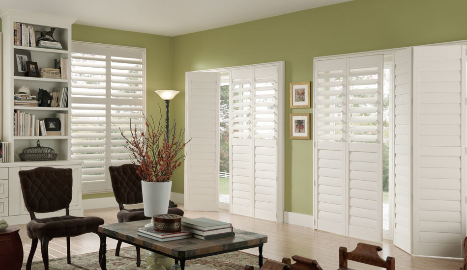 Shutters are and excellent choice for doors