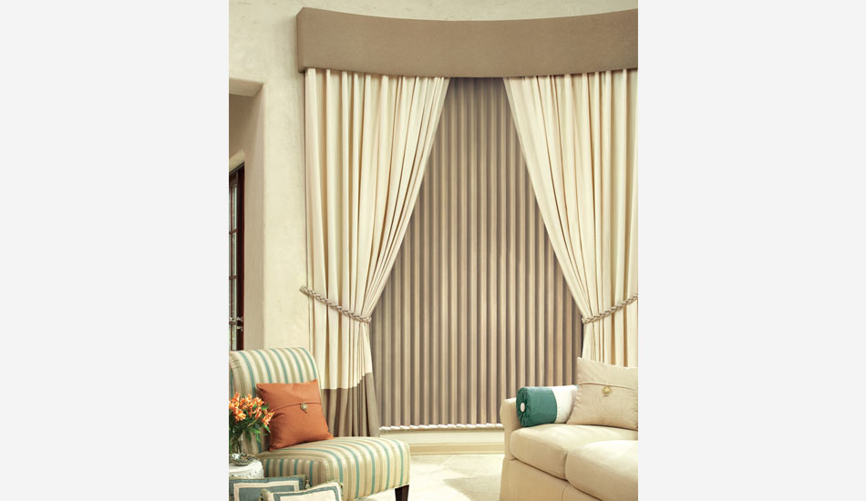 Cadence Vertical Blinds are a beautiful twist to the traditional Vertical blind