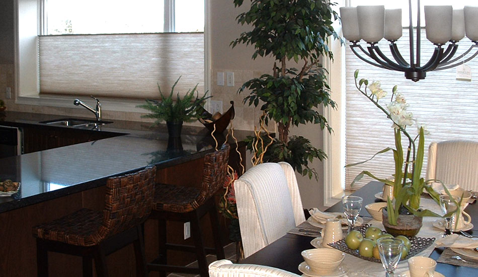 Cellular Shades are excellent for energy efficiency
