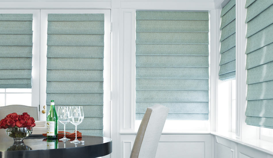 Premium quality fabrics and workmanship. The Hunter Douglas Roman Shades are always made exceptionally well