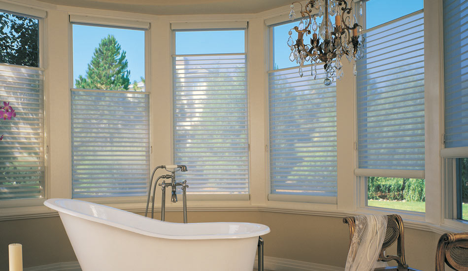 Silhouette blinds pirouette blinds blind advantage for Motorized top down bottom up shades