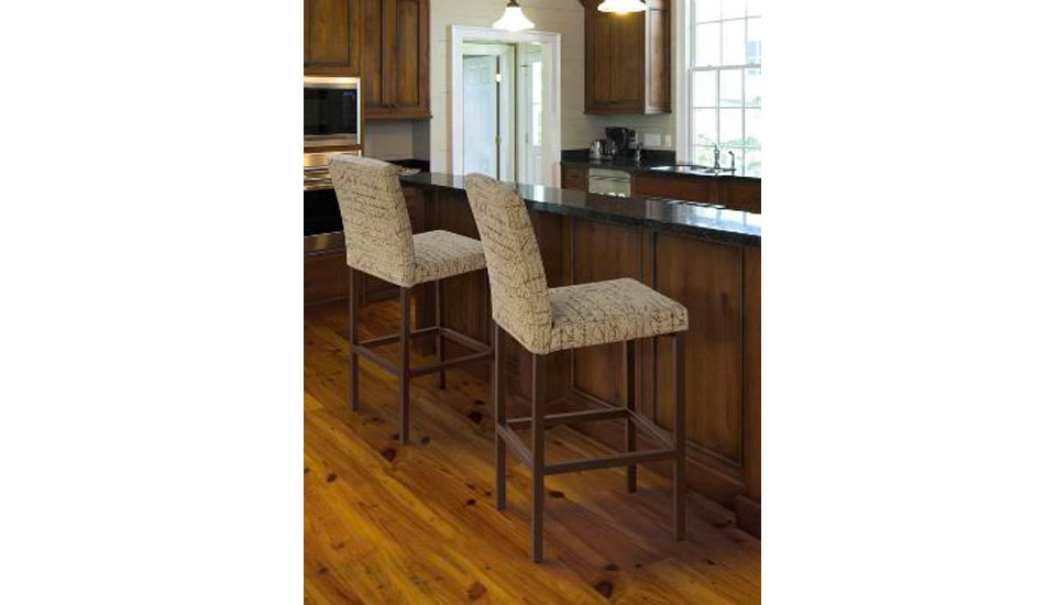 Custom Trica Barstools come with a 10 year warranty!